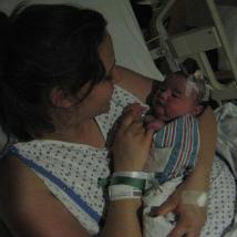 Unmedicated vaginal birth with diabetes